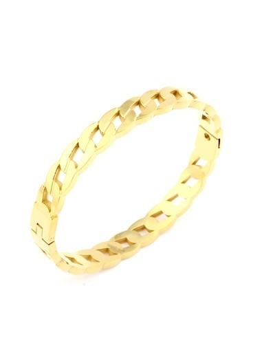Welch Steel Gold Kadın Çelik Bileklik Altın